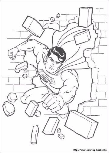 Infantiles Dibujos Para Colorear De Superman Y Batman