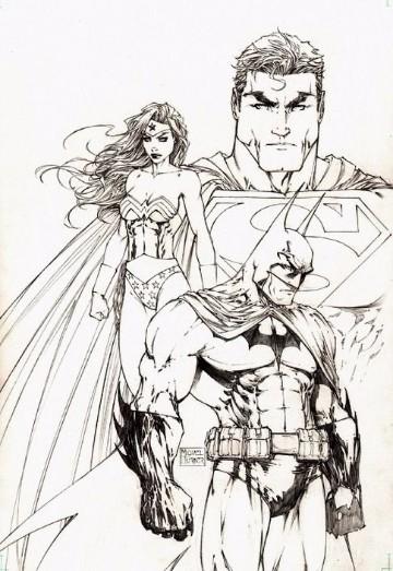 dibujos para colorear de superman lego