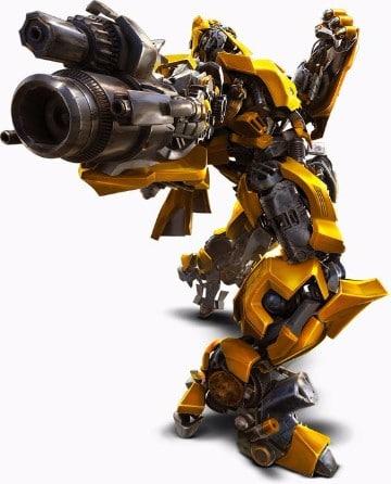 imagenes de bumblebee en accion
