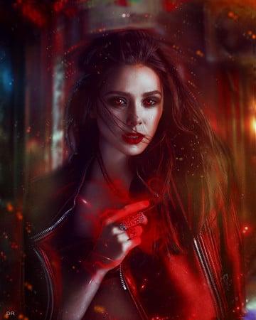 imagenes de la bruja escarlata actriz