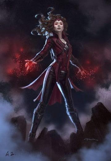 imagenes de la bruja escarlata avenger