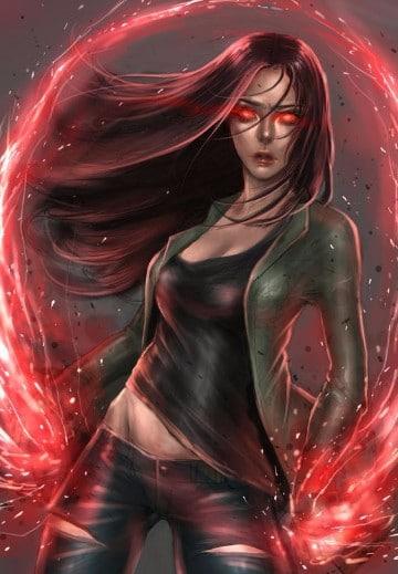 imagenes de la bruja escarlata avengers