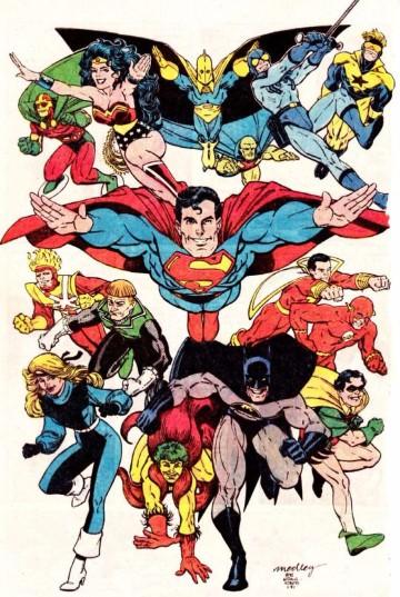 imagenes de la liga de la justicia comics