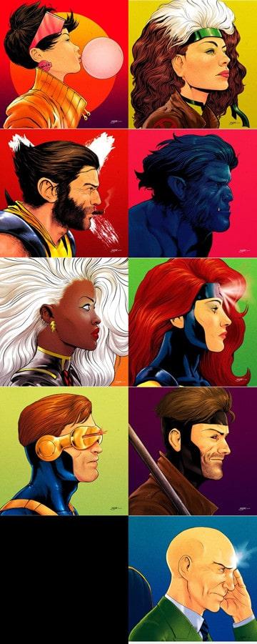 imagenes de los x mens comics