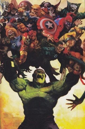 imagenes de marvel zombies hulk