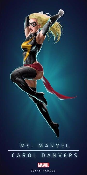 imagenes de miss marvel comics