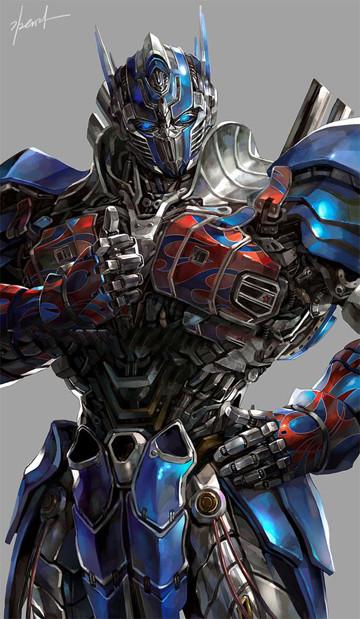 imagenes de optimus prime animado