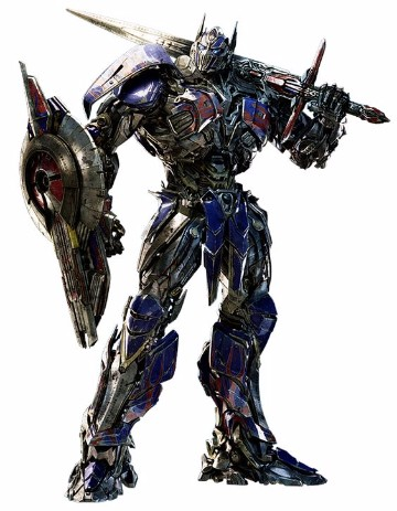 imagenes de optimus prime en transformer 4