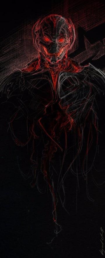 imagenes de ultron en los vengadores 2