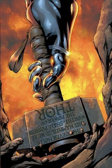 imagenes del martillo de thor para dibujar