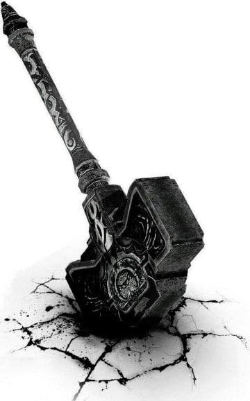 imagenes del martillo de thor real