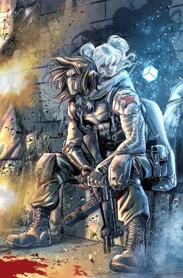 imagenes del soldado del invierno para dibujar