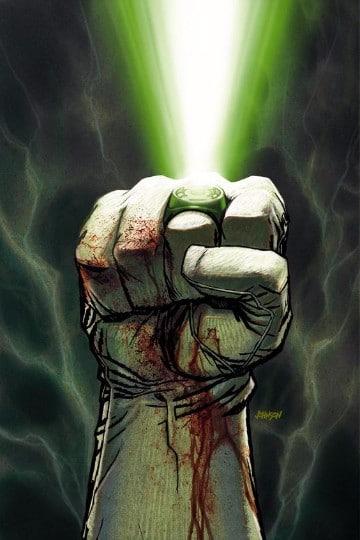 poderes de linterna verde anillo