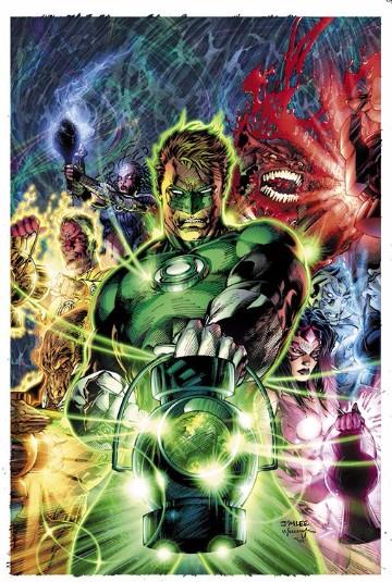 poderes de linterna verde comic