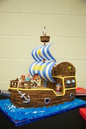 tortas de jake el pirata del nunca jamas