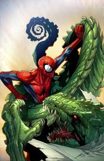 villanos del hombre araña lagarto