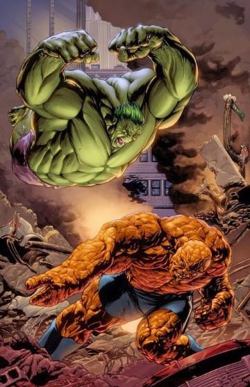 Imagenes De La Mole De Los 4 Fantasticos Vs Hulk Imagenes De Marvel